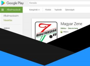 Google Play mobil alkalmazás